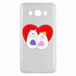 Чохол для Samsung J5 2016 Couple Bears