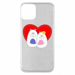 Чохол для iPhone 11 Couple Bears