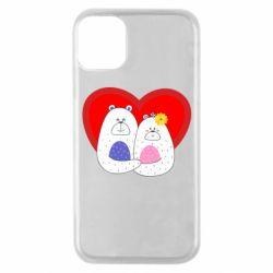 Чохол для iPhone 11 Pro Couple Bears
