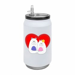 Термобанка 350ml Couple Bears