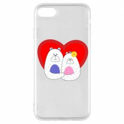 Чохол для iPhone 7 Couple Bears