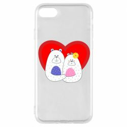 Чохол для iPhone 8 Couple Bears