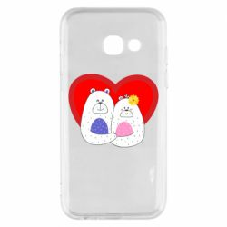 Чохол для Samsung A3 2017 Couple Bears