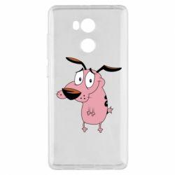 Чехол для Xiaomi Redmi 4 Pro/Prime Courage - a cowardly dog - FatLine