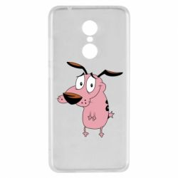 Чехол для Xiaomi Redmi 5 Courage - a cowardly dog - FatLine