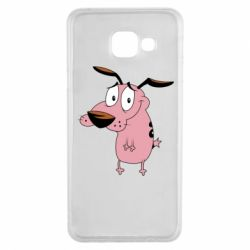 Чохол для Samsung A3 2016 Courage - a cowardly dog