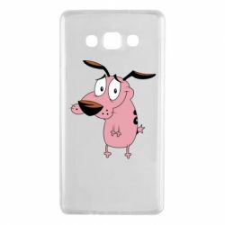 Чохол для Samsung A7 2015 Courage - a cowardly dog