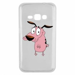 Чохол для Samsung J1 2016 Courage - a cowardly dog