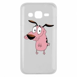Чохол для Samsung J2 2015 Courage - a cowardly dog