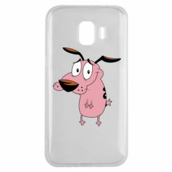 Чохол для Samsung J2 2018 Courage - a cowardly dog