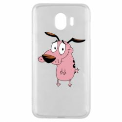 Чохол для Samsung J4 Courage - a cowardly dog