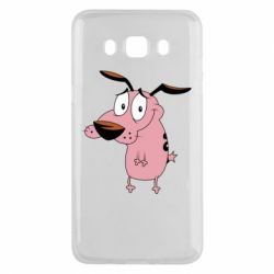 Чохол для Samsung J5 2016 Courage - a cowardly dog