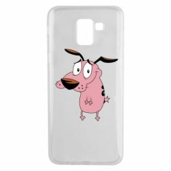 Чохол для Samsung J6 Courage - a cowardly dog