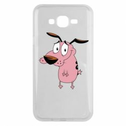 Чохол для Samsung J7 2015 Courage - a cowardly dog