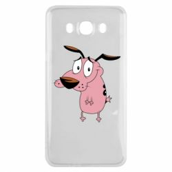 Чохол для Samsung J7 2016 Courage - a cowardly dog