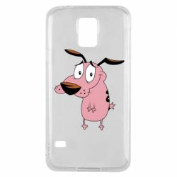 Чохол для Samsung S5 Courage - a cowardly dog
