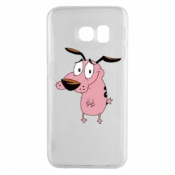 Чохол для Samsung S6 EDGE Courage - a cowardly dog