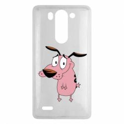 Чехол для LG G3 mini/G3s Courage - a cowardly dog - FatLine