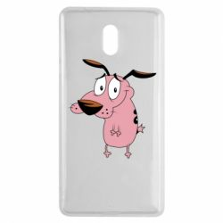 Чехол для Nokia 3 Courage - a cowardly dog - FatLine
