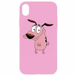 Чохол для iPhone XR Courage - a cowardly dog