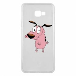 Чохол для Samsung J4 Plus 2018 Courage - a cowardly dog