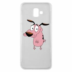 Чохол для Samsung J6 Plus 2018 Courage - a cowardly dog