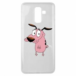 Чохол для Samsung J8 2018 Courage - a cowardly dog