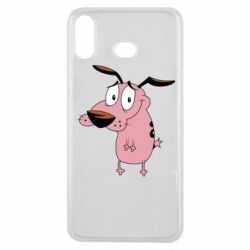 Чохол для Samsung A6s Courage - a cowardly dog