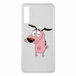 Чохол для Samsung A7 2018 Courage - a cowardly dog