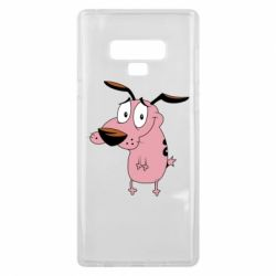 Чохол для Samsung Note 9 Courage - a cowardly dog