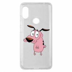 Чохол для Xiaomi Redmi Note Pro 6 Courage - a cowardly dog