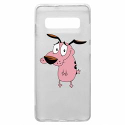 Чохол для Samsung S10+ Courage - a cowardly dog