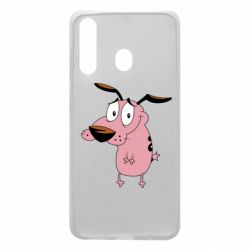 Чохол для Samsung A60 Courage - a cowardly dog