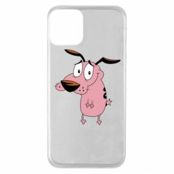 Чохол для iPhone 11 Courage - a cowardly dog