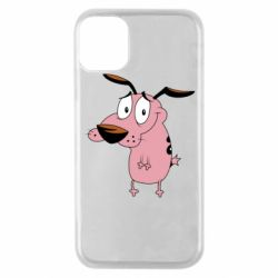 Чохол для iPhone 11 Pro Courage - a cowardly dog