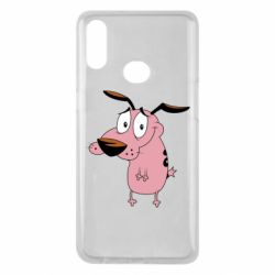 Чохол для Samsung A10s Courage - a cowardly dog