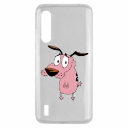 Чохол для Xiaomi Mi9 Lite Courage - a cowardly dog