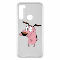 Чохол для Xiaomi Redmi Note 8 Courage - a cowardly dog
