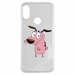 Чохол для Xiaomi Redmi Note 7 Courage - a cowardly dog