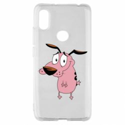 Чохол для Xiaomi Redmi S2 Courage - a cowardly dog