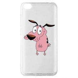 Чохол для Xiaomi Redmi Go Courage - a cowardly dog