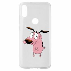 Чохол для Xiaomi Mi Play Courage - a cowardly dog