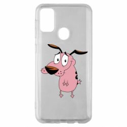 Чохол для Samsung M30s Courage - a cowardly dog