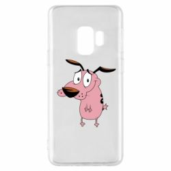 Чохол для Samsung S9 Courage - a cowardly dog