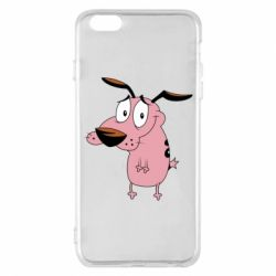 Чохол для iPhone 6 Plus/6S Plus Courage - a cowardly dog