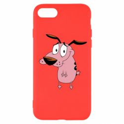 Чохол для iPhone 7 Courage - a cowardly dog