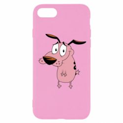 Чохол для iPhone 8 Courage - a cowardly dog