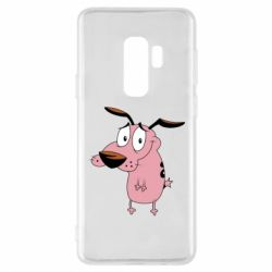 Чохол для Samsung S9+ Courage - a cowardly dog
