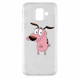 Чохол для Samsung A6 2018 Courage - a cowardly dog
