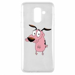 Чохол для Samsung A6+ 2018 Courage - a cowardly dog